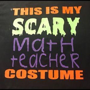 Tops - Custom Halloween Teacher T-shirt